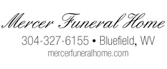 Mercer Funeral Home Obituaries Bluefield Daily Telegraph